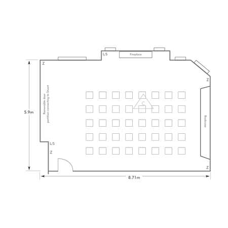 Theatre layout