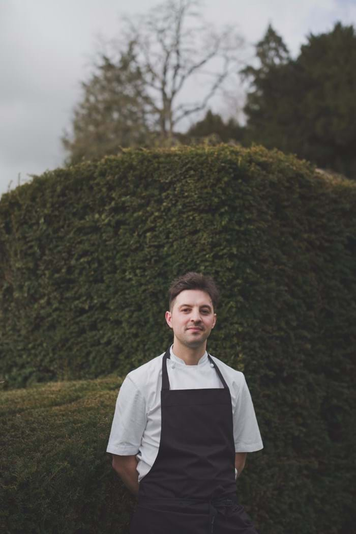 Head Chef Robert Potter at The Bybrook
