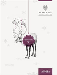 The Manor House Christmas Brochure 2017
