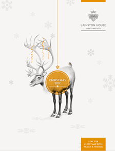 Lainston House Christmas Brochure 2017