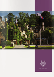 THE MANOR HOUSE LEISURE BROCHURE