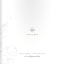 LAINSTON HOUSE WEDDING BROCHURE