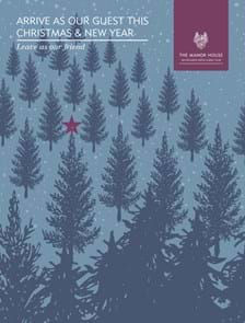 The Manor House Christmas Brochure 2018