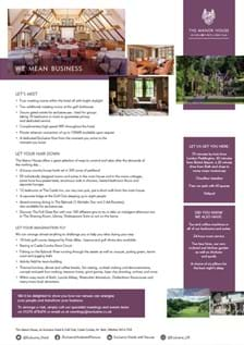 The Manor House Factsheet