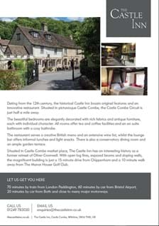 The Castle Inn Factsheet