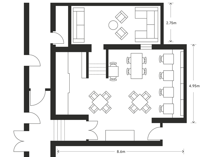 Informal layout